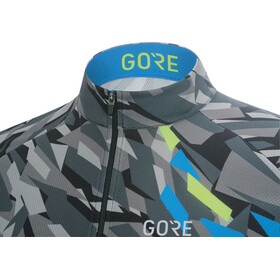 GORE WEAR C3 Camo Jersey Men black/dynamic cyan